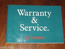 Toyota COROLLA 4WD 4A-FE +7A-FE engine,1994 Service Manual Australia, FREE POST