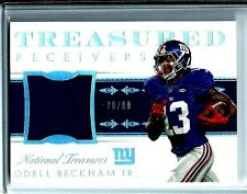 2014 National Treasures Jersey/Patch Odell Beckham Jr. *Rookie* D # 79/99 Giants