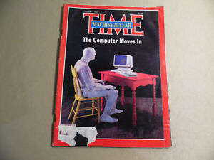 Time Magazine / January 3 1983 / The Computer Moves In / Free Domestic Shipping