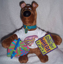 """SCOOBY-DOO """"CONGRATULATIONS"""" PLUSH CHARACTER & NOTECARD FROM 2000 ~ STILL NEW"""