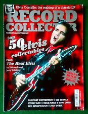 Record Collector Magazine For Serious Collectors Issue #340~Elvis Collectables
