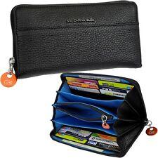 MANDARINA DUCK -RV- Damen-Geldbörse -Schwarz- Geldbeutel Portemonnaie Geldtasche