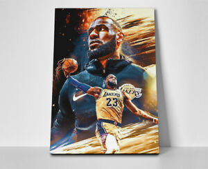 Lebron James Poster or Canvas - Lakers