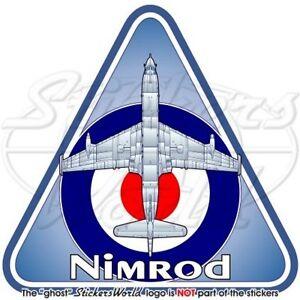 NIMROD RAF Hawker Siddeley-BAe Reale Aeronautica Militare Bretannica Adesivo