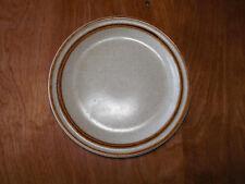 "International SUNCRAFT BRANDY SY 6004 Set of 6 Salad Plates 7 5/8"" Brown Tan"