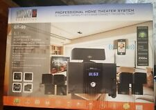 Bno Acoustics Gt-60 Home Theater System (New In Box System Never Used)