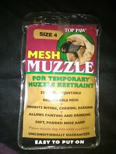 New listing Top Paw. Muzzle Size 4 Mesh. Black