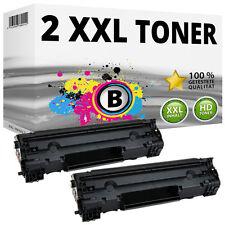 2x Toner für HP LaserJet M201 M201n M202n M202dw M225 M225dn M225dw 83A CF283A