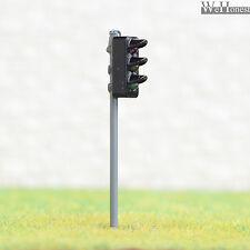 4 x traffic signal light HO OO scale model railroad crossing walk led lamps #GR3