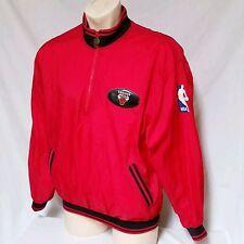 VTG Chicago Bulls Pro Player Windbreaker Jacket 90's Colorblock Warm Up Medium