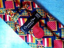 CRAVATTA (TIE)  vintage CHRISTIAN DIOR Paris made in France  New!  rare