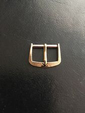 Gold Plated 16Mm Watch Buckle Grooved Vintage Great Stylish Design 60s