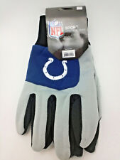 Indianapolis Colts Gloves Adult Embroidered 2-Tone Utility
