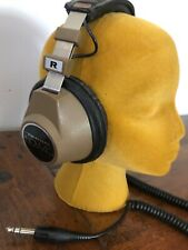 Realistic NOVA 40 Stereo Headphones Retro Vintage Full Size DJ Wired Headset
