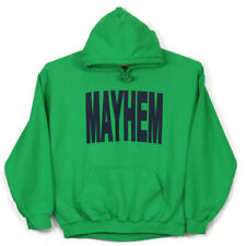Mayhem Mens Hoodie Sweatshirt Size XL Green