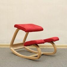 Ergonomic Kneeling Chair Stool Rocking Wooden Kneeling Computer Posture Chair