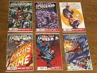 """Amazing Spider-Man #16.1-20.1 Complete """"Spiral"""" Storyline NM Unread + Bonus Book"""