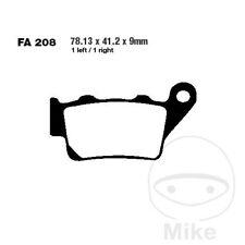 EBC TT Carbon Rear Brake Pads FA208TT Husaberg FC 450 Cross 2004-2006