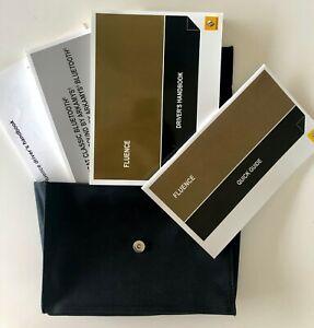 Renault Fluence Owners Handbook Set for Australia 2011 - 2014