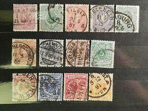 German Stamps -- Germany 1875-1889