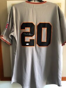 Monte Irvin Signed San Francisco Giants Jersey JSA Authenticated