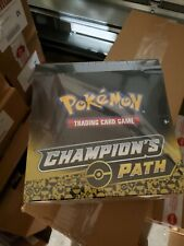 Pokemon Champion's Path Pin Collection Set 1 Box