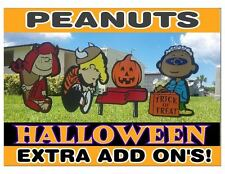 Peanuts Halloween Cutout ADD ON Decoration Characters