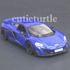 Kinsmart Mclaren 675LT 675 LT 1:36 Diecast Toy Car  KT5392D Blue