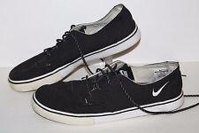 Nike SB Braata Casual Sneakers, #458697-003, Black/White, Canvas, Mens US 12