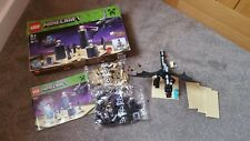 Lego Minecraft Ender Dragon 21117 avec boite & Instructions. 99.5% complet
