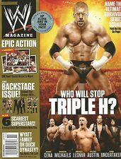 NOVEMBER 2013 WWE MAGAZINE HHH TRIPLE H GAME EVOLUTION WRESTLING WRESTLEMANIA