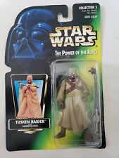 STAR WARS THE POWER OF THE FORCE TUSKEN RAIDER 1997 ACTION FIGURE MOC! NEW