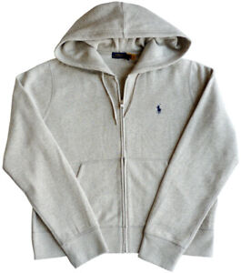 POLO RALPH LAUREN Damen Sweatshirt, Gr.XL, GREY HTR, Pony Logo, Hoodie