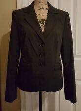 the limited 3 button pinstripe blazer 8 medium M classy chic business