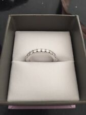 White Eternity Fine Rings