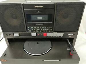Vintage Panasonic SG-J500L Record Player/Radio/Cassette Black #127