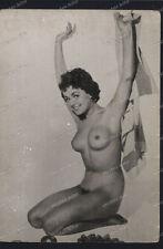 Vintage-Photo-Frau-Nackt-Akt-Erotik-Nude-Woman-Posing-Pin-Up-Sexy-Girl-2