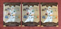 Lot of (3) 2018 Select SAM DARNOLD Rookie Selections #RS-3 RC Jets - Panthers🔥