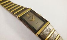 Lassale by Seiko Black & Gold Tone Metal 2F50-0420 Sample Watch NON-WORKING