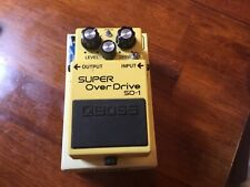 Boss SD-1 with Keeley Mod Distortion Pedal