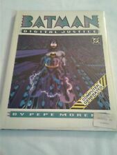 BATMAN DIGITAL JUSTICE 1990 NEW SEALED DC COMICS GRAPHIC NOVEL HARDCOVER