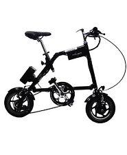 "Bicicleta eléctrica plegable Nanoo, color negro, 12"""