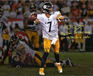 Ben Roethlisberger Autographed Signed 8x10 Photo ( Steelers ) REPRINT