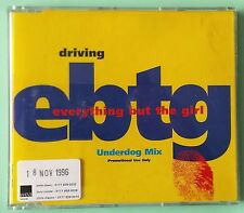 EVERYTHING BUT THE GIRL - DRIVING UNDERDOG MIX 1996 RARE UK PROMO CD SINGLE vgc