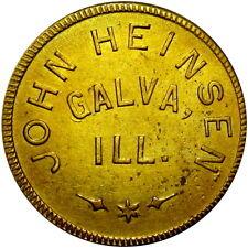 Galva Illinois Good For Token John Heinsen Unlisted Merchant