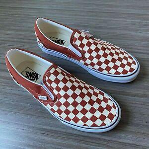 Rare Vans Classic Slip-On Skate Shoes Men's Size 11.5 Checkers
