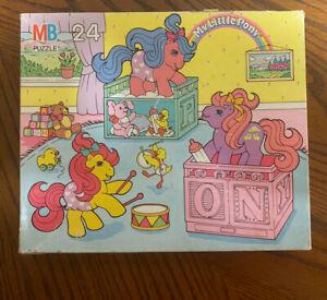 COMPLETE Vintage MY LITTLE PONY - BABY PONY Puzzle, 24 Piece 1990 61CL-06