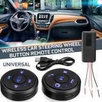 10 Tasten Auto Wireless Lenkrad Tasten Radio Fernbedienung GPS Universal