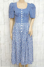 SPORTALM ❤ Trachtenkleid Baumwolle Dirndl Gr. 36 Dress Robe Damen Woman