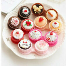 Travel Portable Cupcake Shape Contact Lens Case Storage Container Holder Box